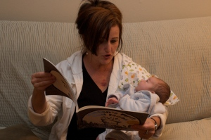Reading to Silas